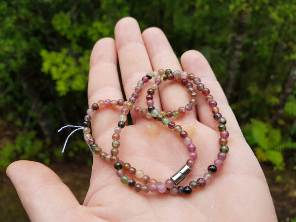 Mixed Tourmaline Gemstone Necklace