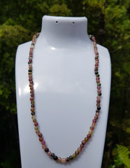 Mixed Tourmaline Gemstone Necklace - Earth's Treasures