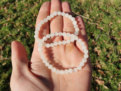 Rainbow Moonstone Bracelet 6mm - Earth's Treasures