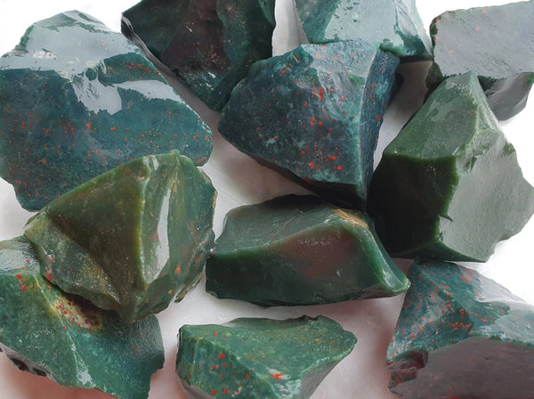 Bloodstone Rough med - Earth's Treasures