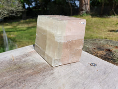 Bicolour Calcite Rhomboid - Earth's Treasures