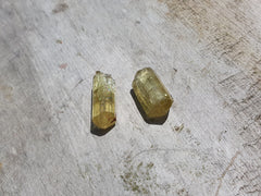 Yellow Apatite Crystal - Earth's Treasures
