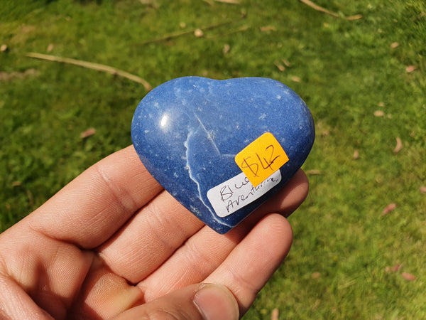 Blue Aventurine Heart - Earth's Treasures