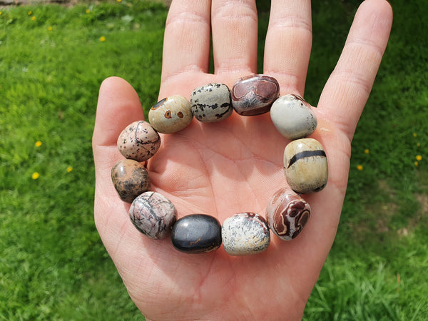 Picasso Jasper Nugget Bracelet - Earth's Treasures