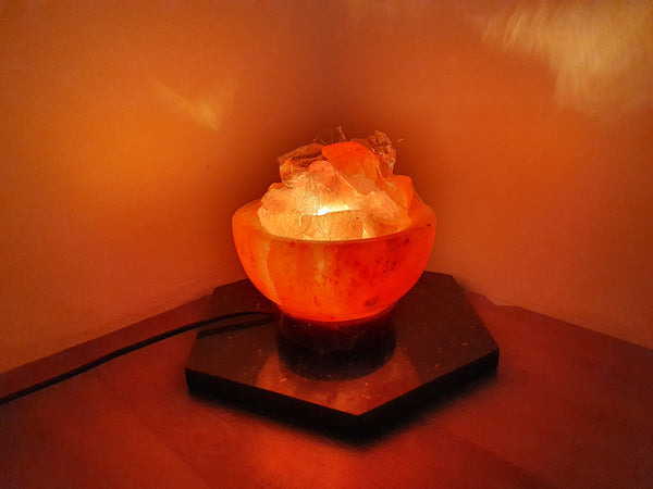 Himalayan Salt Lamp Firebowl - Earth's Treasures