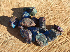 Chalcopyrite Rough 50g / 3pc