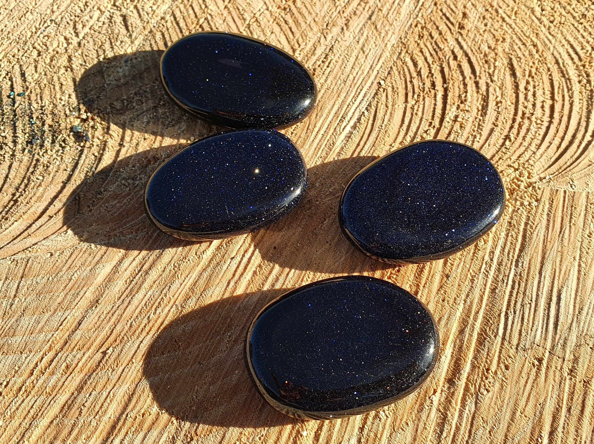 Blue Sandstone Pocket Stone