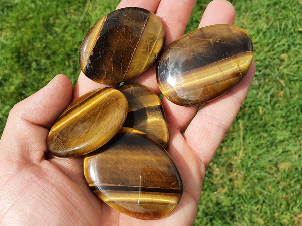 Tiger's Eye Pocket Stone