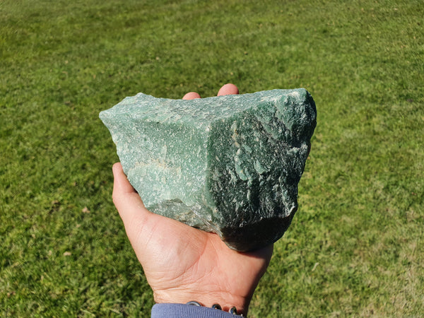 Green Aventurine Rough Cut