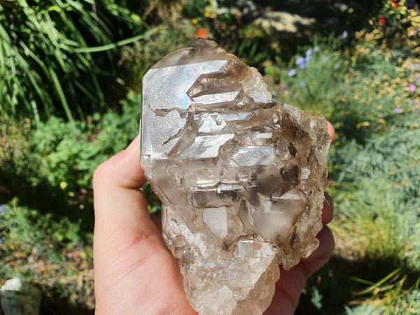 Smoky Quartz Elestial Crystal