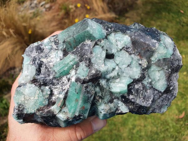 Emerald Crystal Cluster