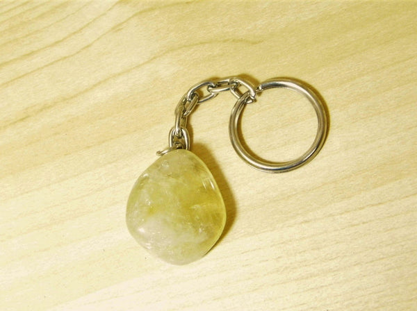 Citrine Keychain - Earth's Treasures