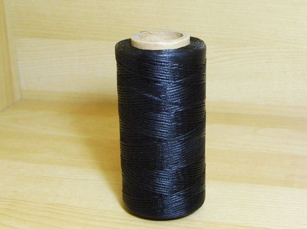 Waxed Cord Black 260m - Earth's Treasures