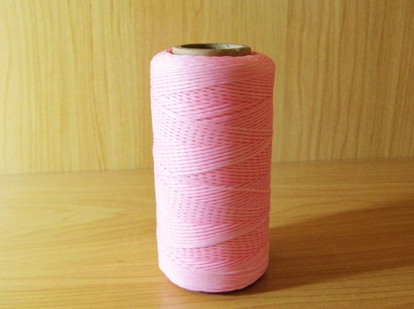 Waxed Cord Pink 260m - Earth's Treasures