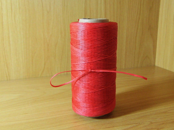 Waxed Cord Red 260m - Earth's Treasures