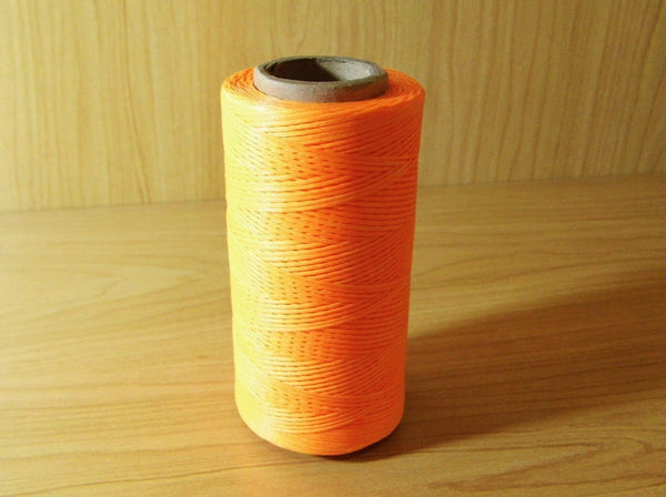 Waxed Cord Intense Orange 260m - Earth's Treasures