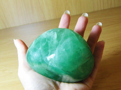 Green Fluorite Large Freeform - Earth's Treasures