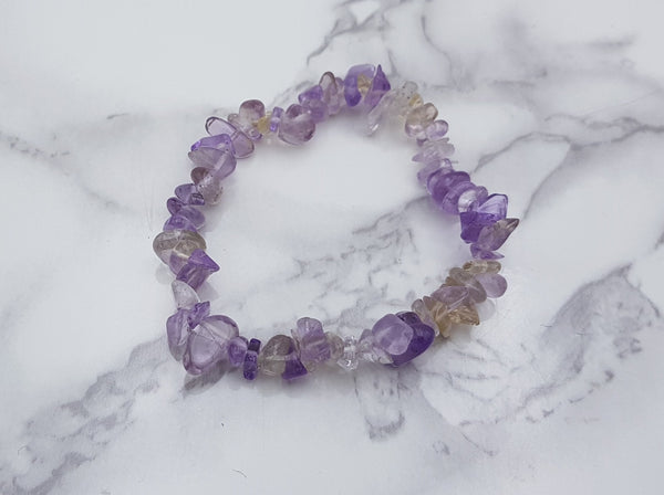 Ametrine Chip Bracelet - Earth's Treasures