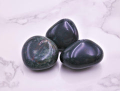 Bloodstone Tumbles Med - Earth's Treasures
