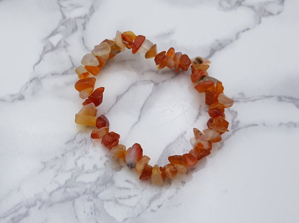 Carnelian Chip Bracelet - Earth's Treasures