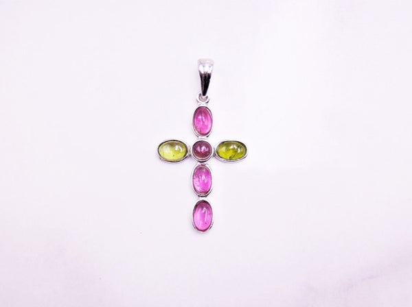 Tourmaline Cross Pendant