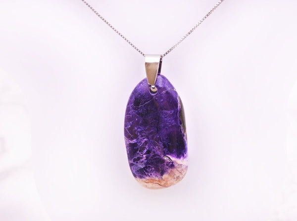 Tiffany Stone Pendant - Earth's Treasures