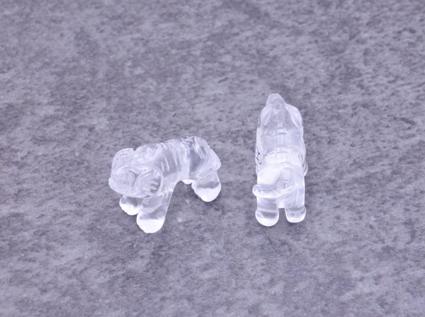 Clear Quartz Bear - Earth's Treasures