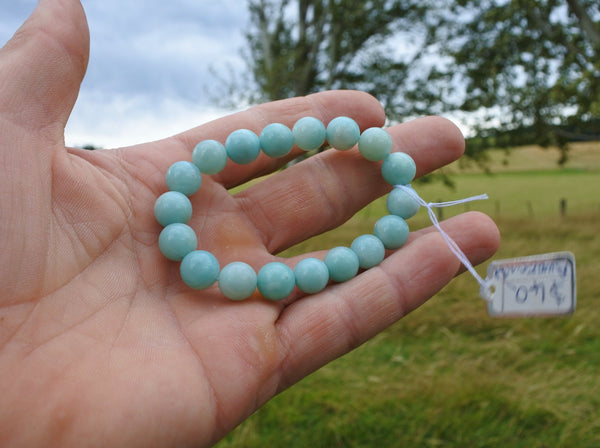 Amazonite Bracelet 10mm - Earth's Treasures