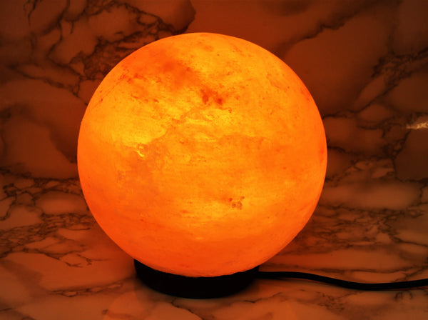 Himalayan Salt Lamp Sphere - Earth's Treasures