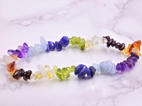 Chakra Chip Bracelet - Earth's Treasures