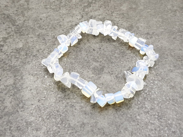 Opalite Chip Bracelet - Earth's Treasures