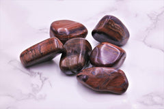 Red Tiger's Eye Tumbles Lrg - Earth's Treasures