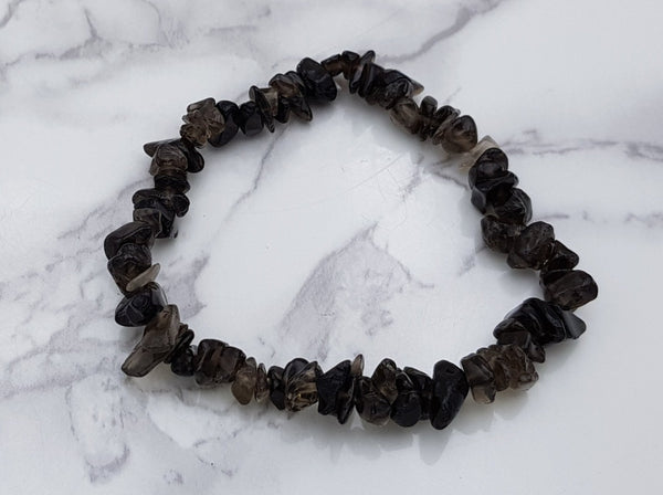 Smoky Quartz Chip Bracelet - Earth's Treasures