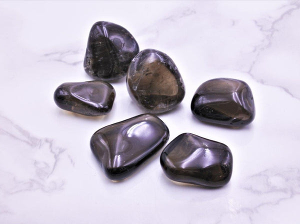Smoky Quartz Tumbles Med - Earth's Treasures