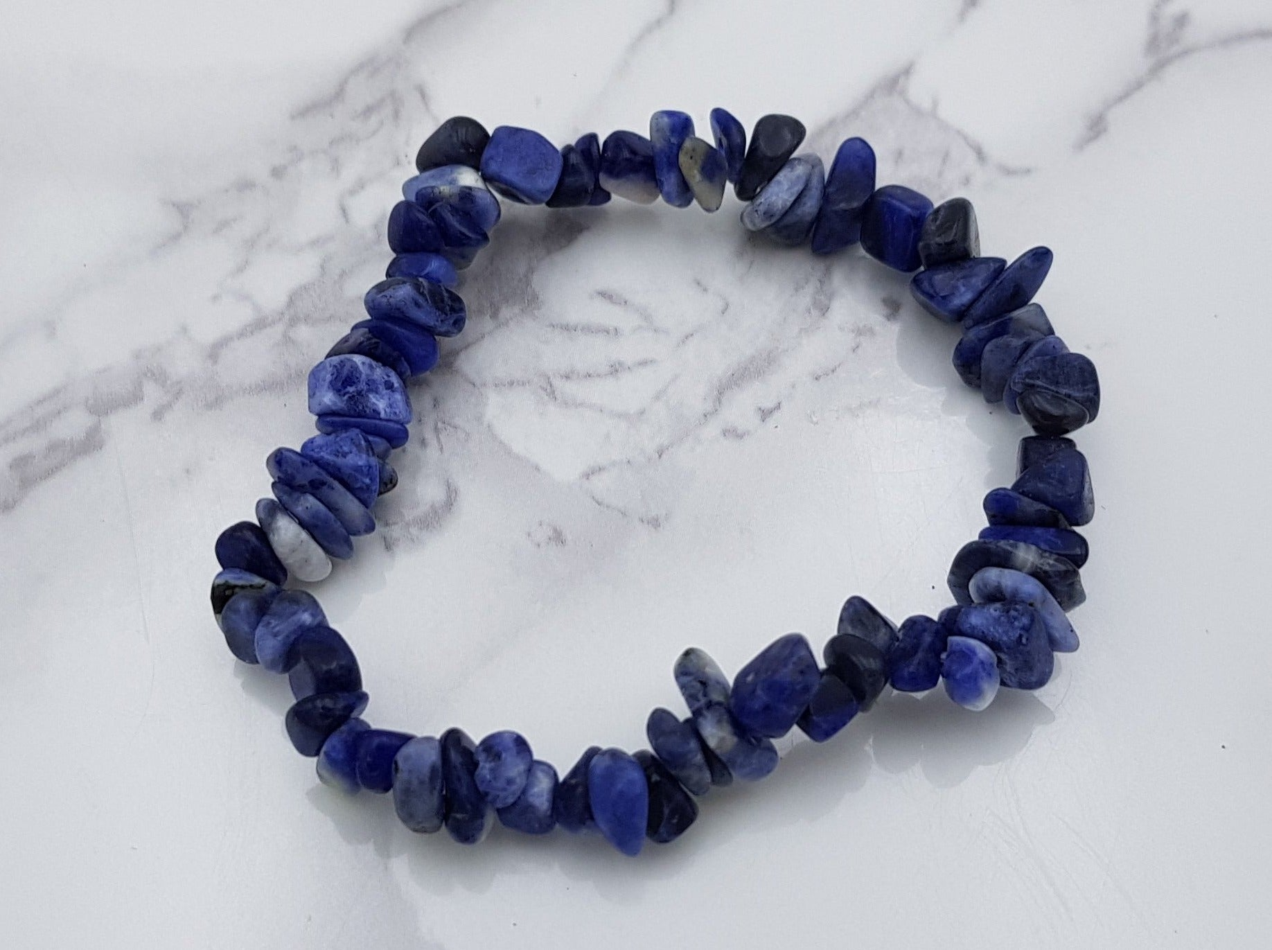 Sodalite Chip Bracelet - Earth's Treasures