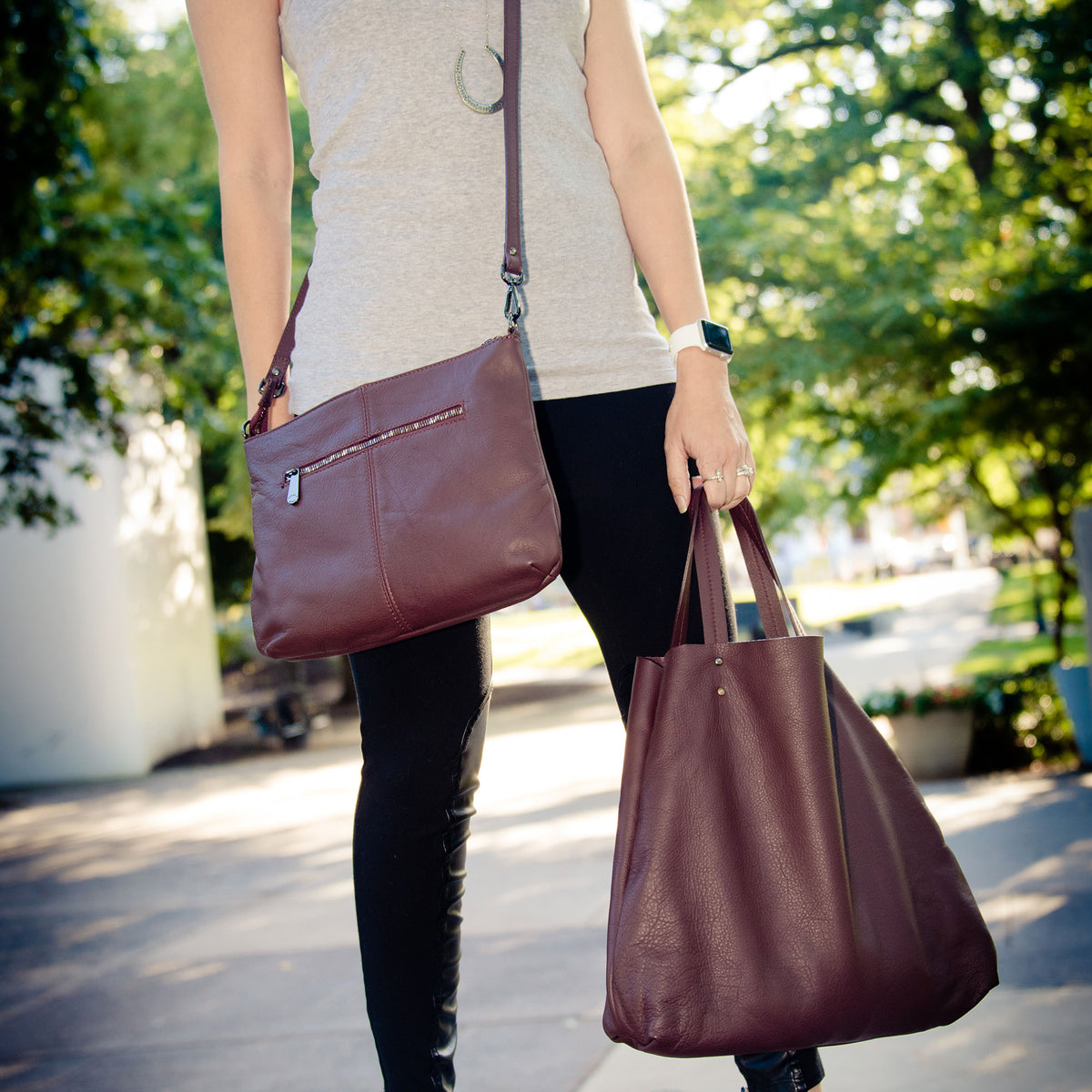 2 in 1 Tote and Shoulder Bag