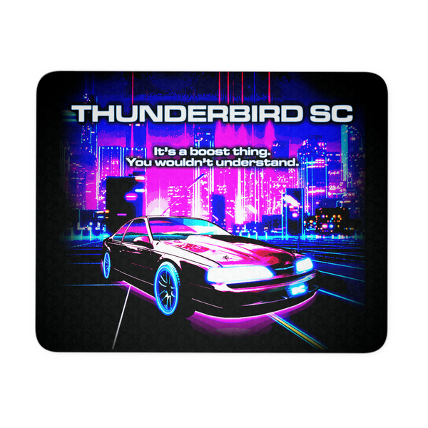 It's a Boost Thing Retro Thunderbird SC Super Coupe Mouse Pad