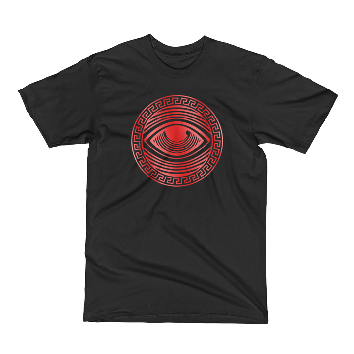 Eyeconic t-shirt with red Eyedusa print - Eyechronic Edition