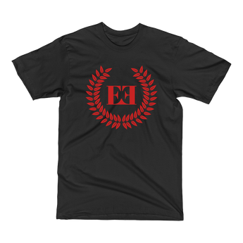 Eyeconic t-shirt with red crest print