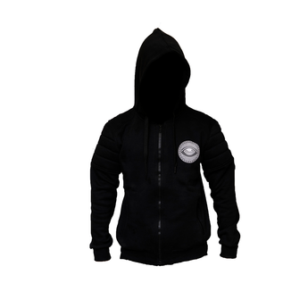 Eyeconic hoodie with silver Eyedusa print