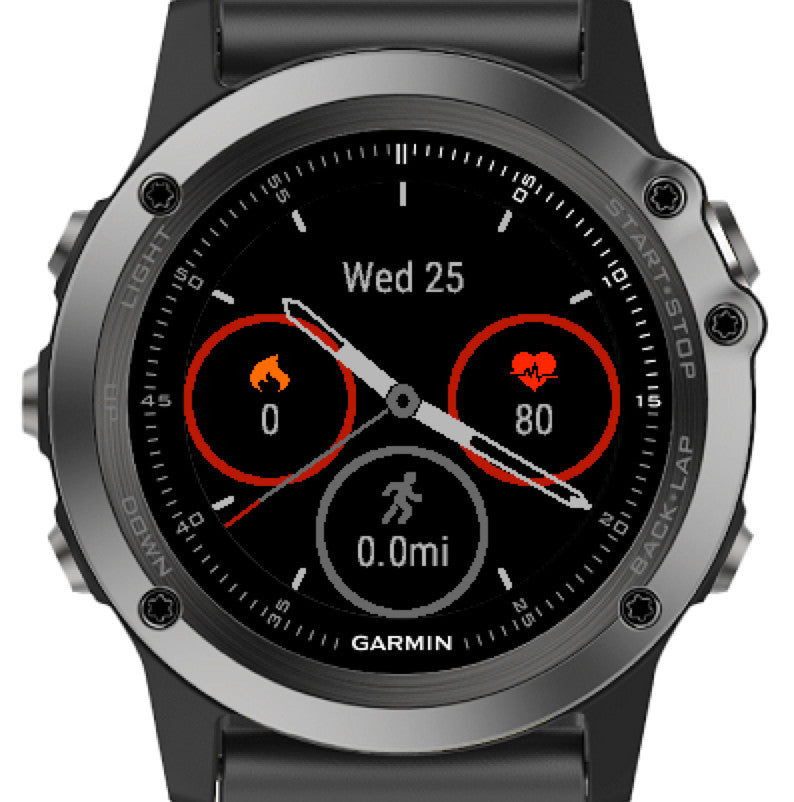 Fenix Watch Face Play It Loud Dev