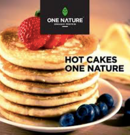 Hot cakes con proteína One Nature