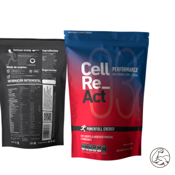 Cell Re_Act Performance Cont. Net. 545g