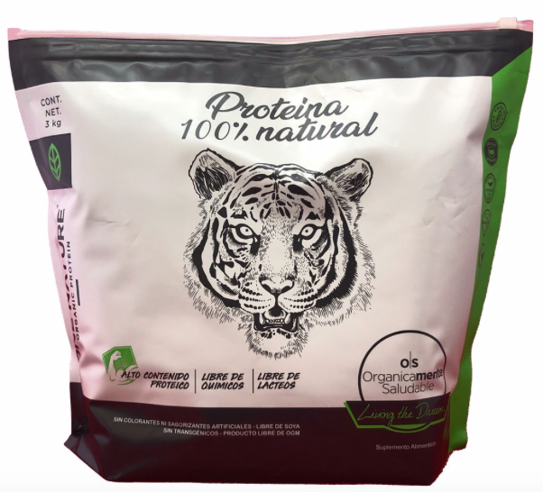 Proteína Nature 3Kg Natural