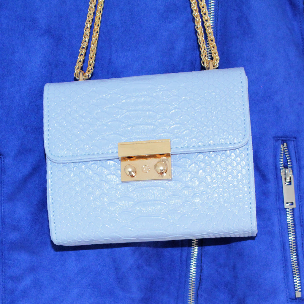 Blue Handbag by Danielle Lloyd