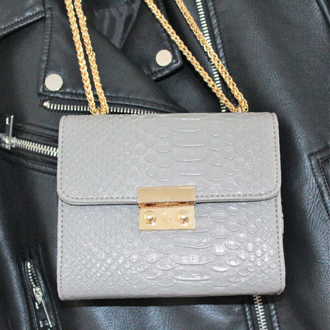 Grey Handbag by Danielle Lloyd