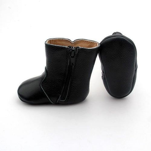 'Indi' Black Boots clearance item