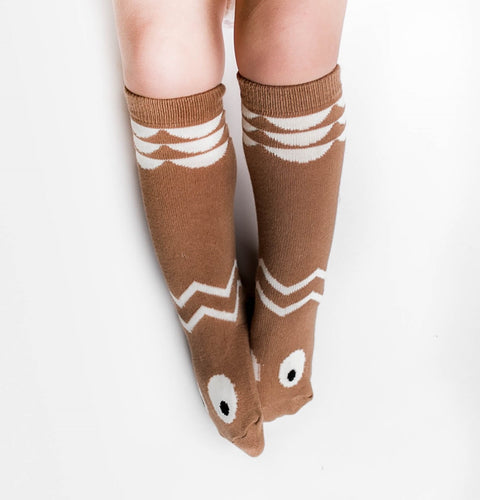 'Bear' knee high socks