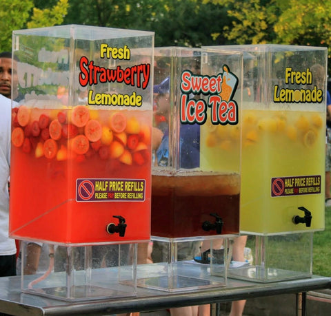 Drink Dispensers See The Different Packages