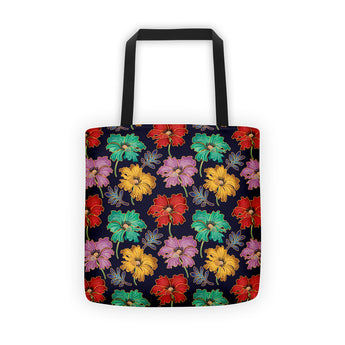 Tote Bag - Cloisonne Poppies